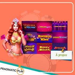 PragmaticPlay casinos en ligne